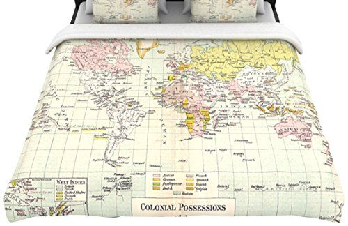 Catherine holcombe for kess inhouse travel fleece duvet cover catherine holcombe for kess inhouse travel fleece duvet cover queen world map gumiabroncs Image collections