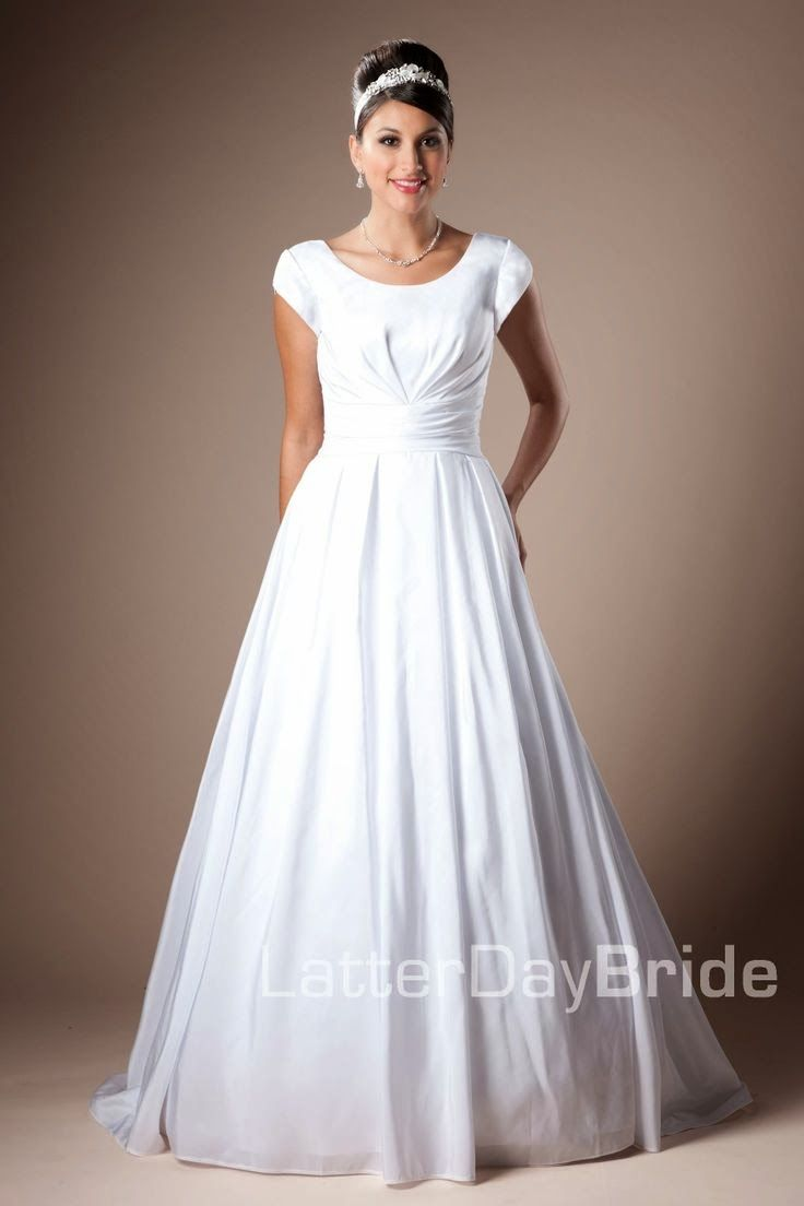 modest-wedding-dresses-easton.jpg 736×1,104 pixels | Anna\'s wedding ...