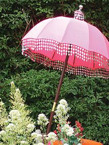 Superior Pink Garden · Raj Garden Parasol By Indian ...