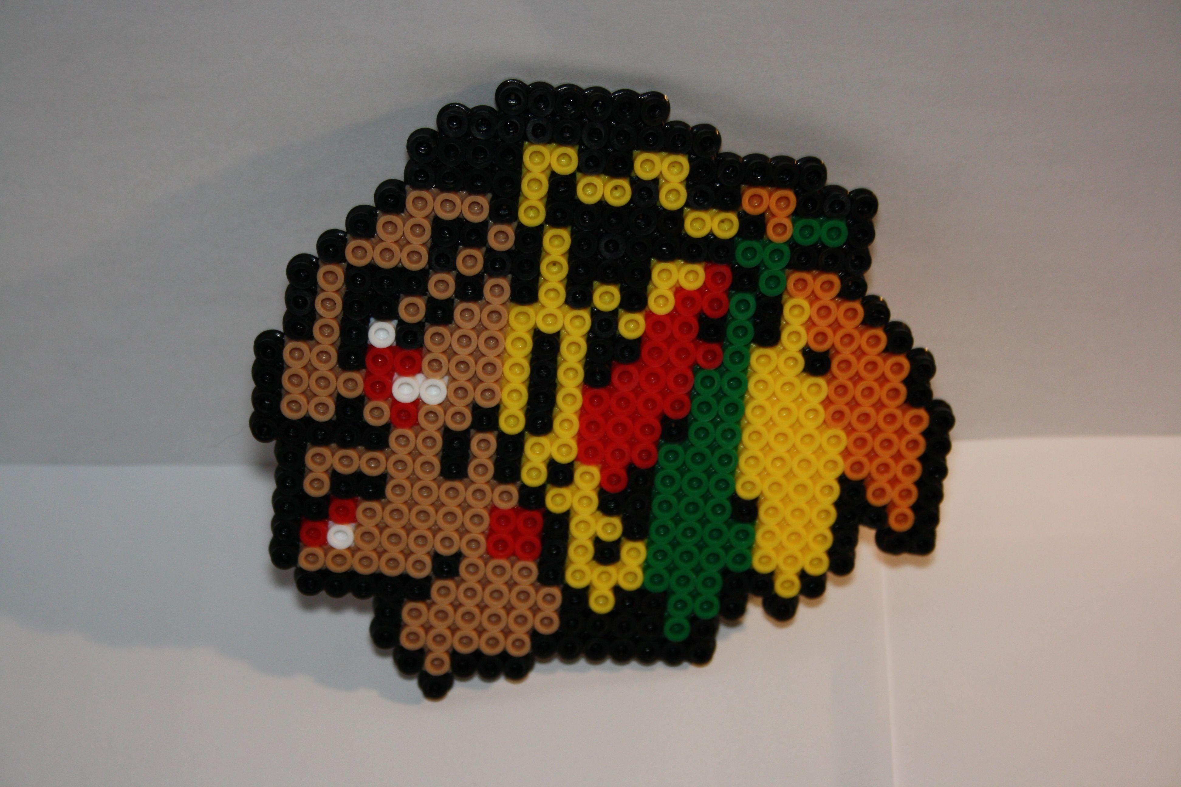 Chicago Blackhawks Perler | Crafts | Pinterest | Perler beads ...