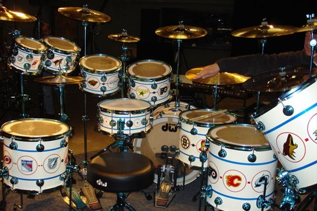 neil peart hockey song drums kits drums neil peart drum kits. Black Bedroom Furniture Sets. Home Design Ideas