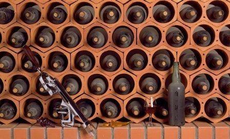 Cave Terre Cuite Wine Rack Cellar Wine