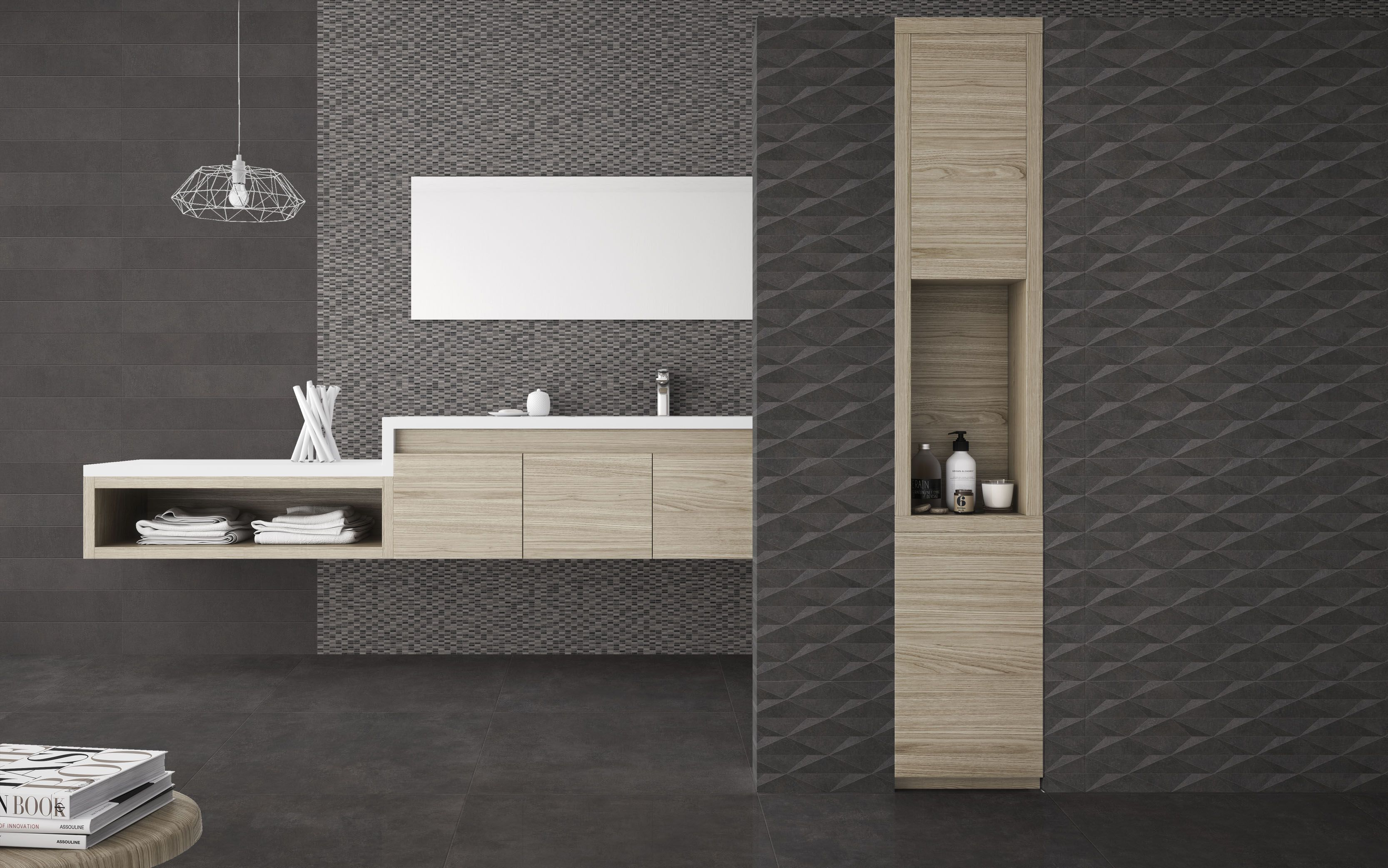 Piastrella Otta Leroy Merlin Urbe Negro Ambient For More Information Visit X Tile
