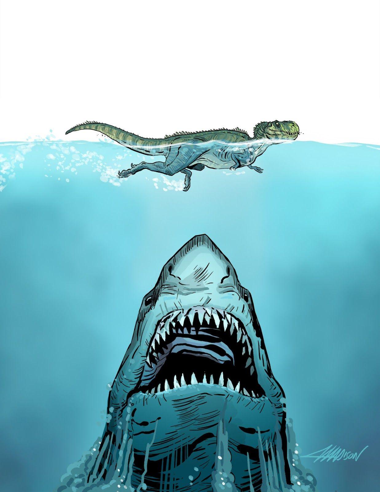 megalodon shark size - HD1237×1600