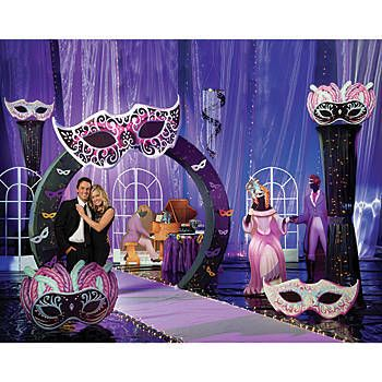 Our Masquerade Ball Kit Will Give Your Party Venue The Look Of An 1800 S Masquerade Ball Each M Sweet 16 Masquerade Party Masquerade Theme Sweet 16 Masquerade