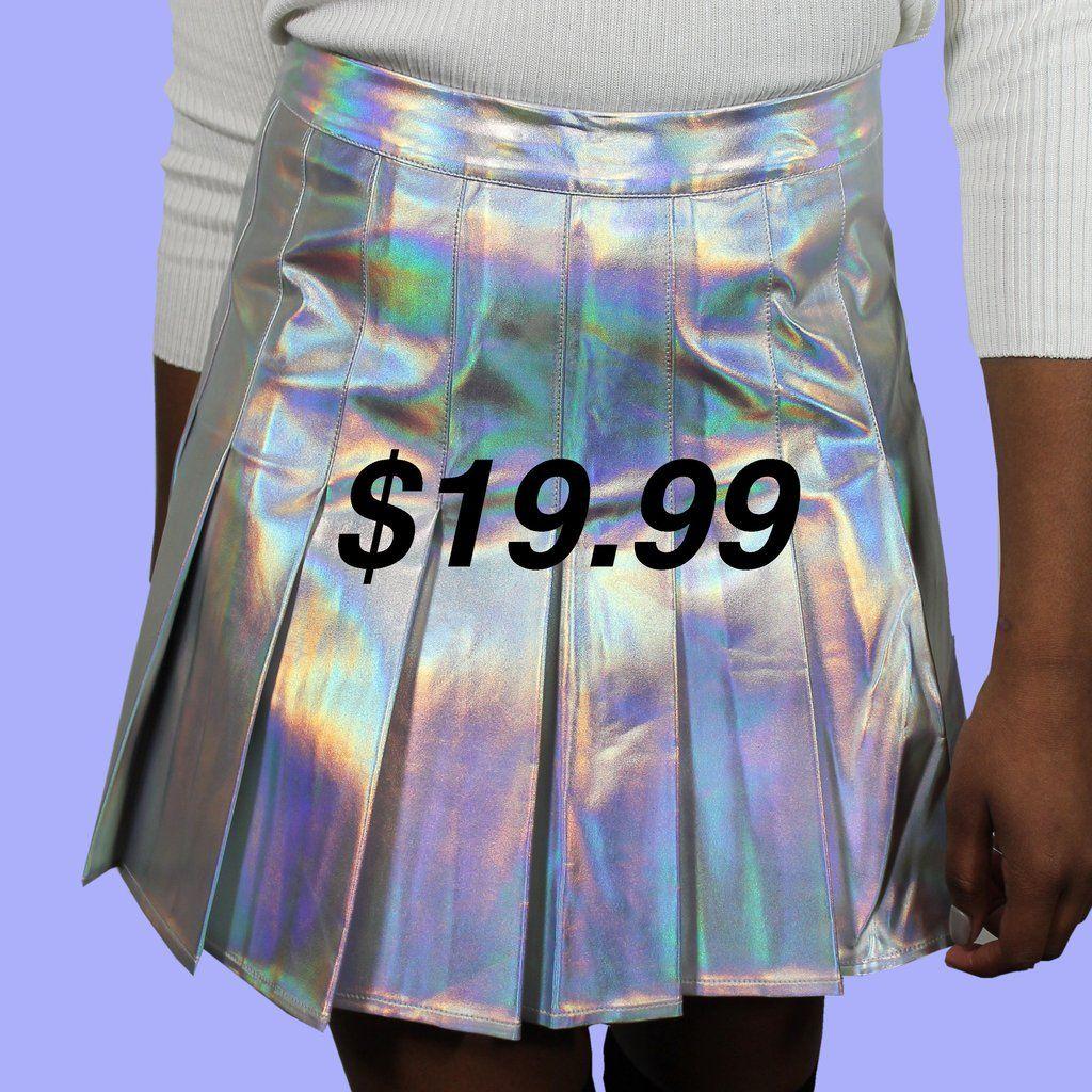 4ddbd79c6264 Bildergebnis für holographic tennis skirt | Fashion | Skirts ...