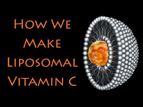 DIY: How to make Liposomal Vitamin C with Sunflower Lecithin & non-GMO Ingredients.