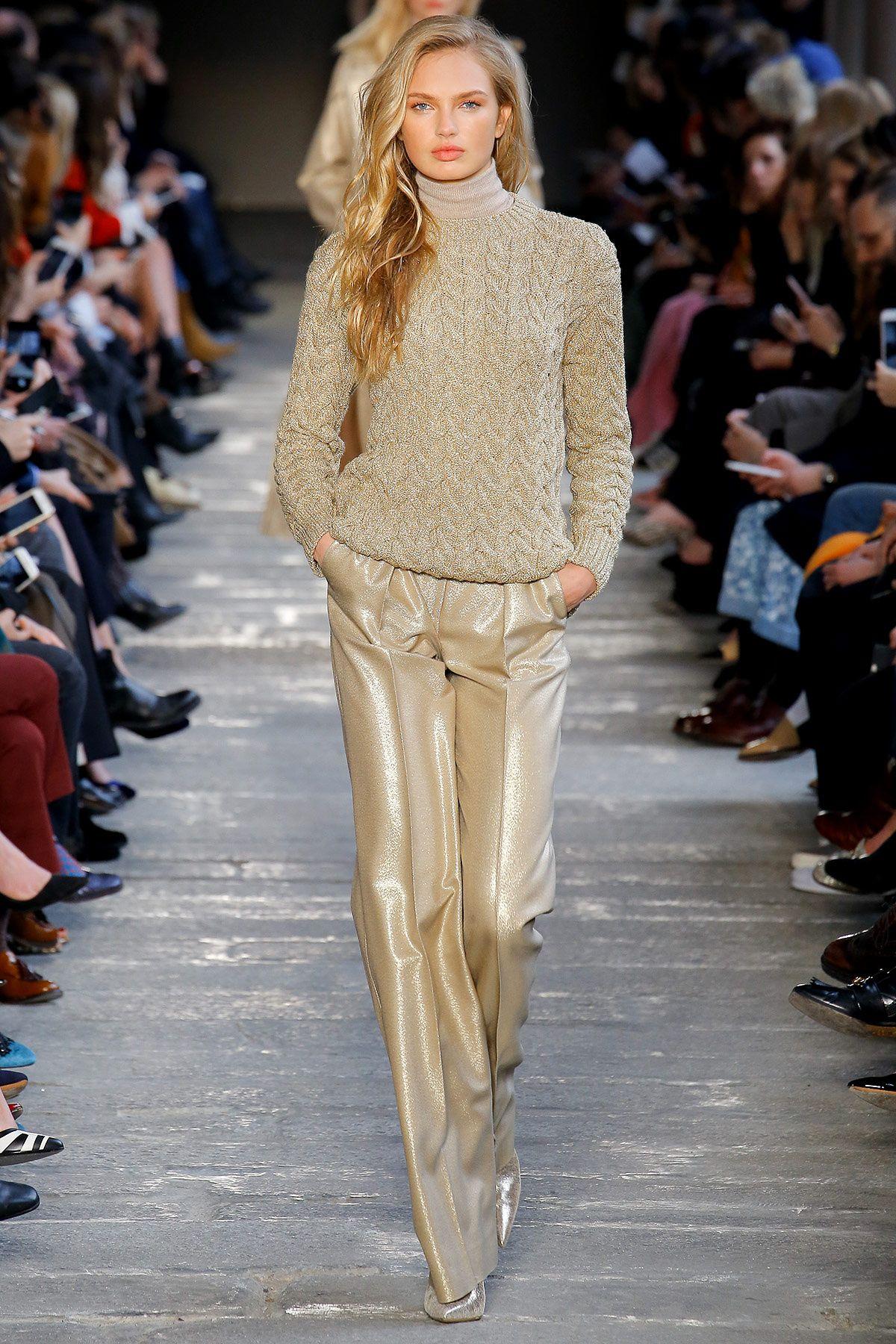 b21e644f66 que tela tendra este pantalon  Max Mara - Pasarela
