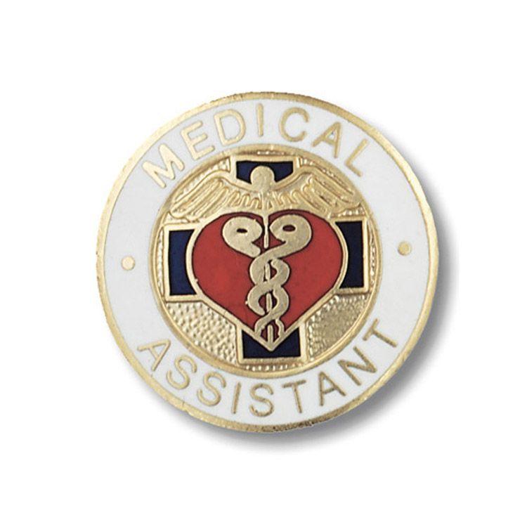 Emblem Pin Medical Assistant