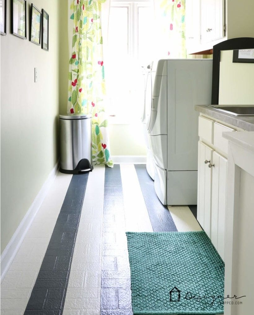 20 Cheap DIY Flooring Ideas You Need To Know About Кухня