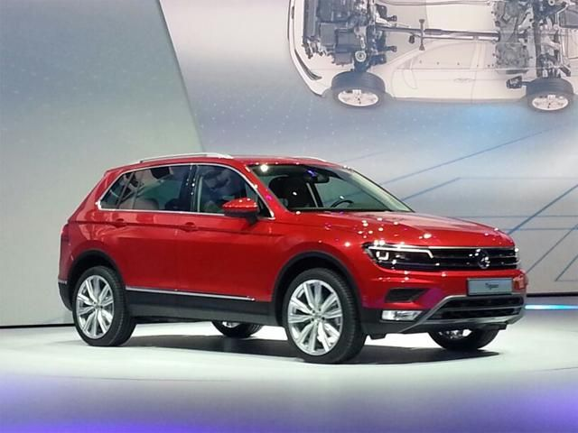 2016 Volkswagen Tiguan LWB spied in the USA Motor1 reported that the