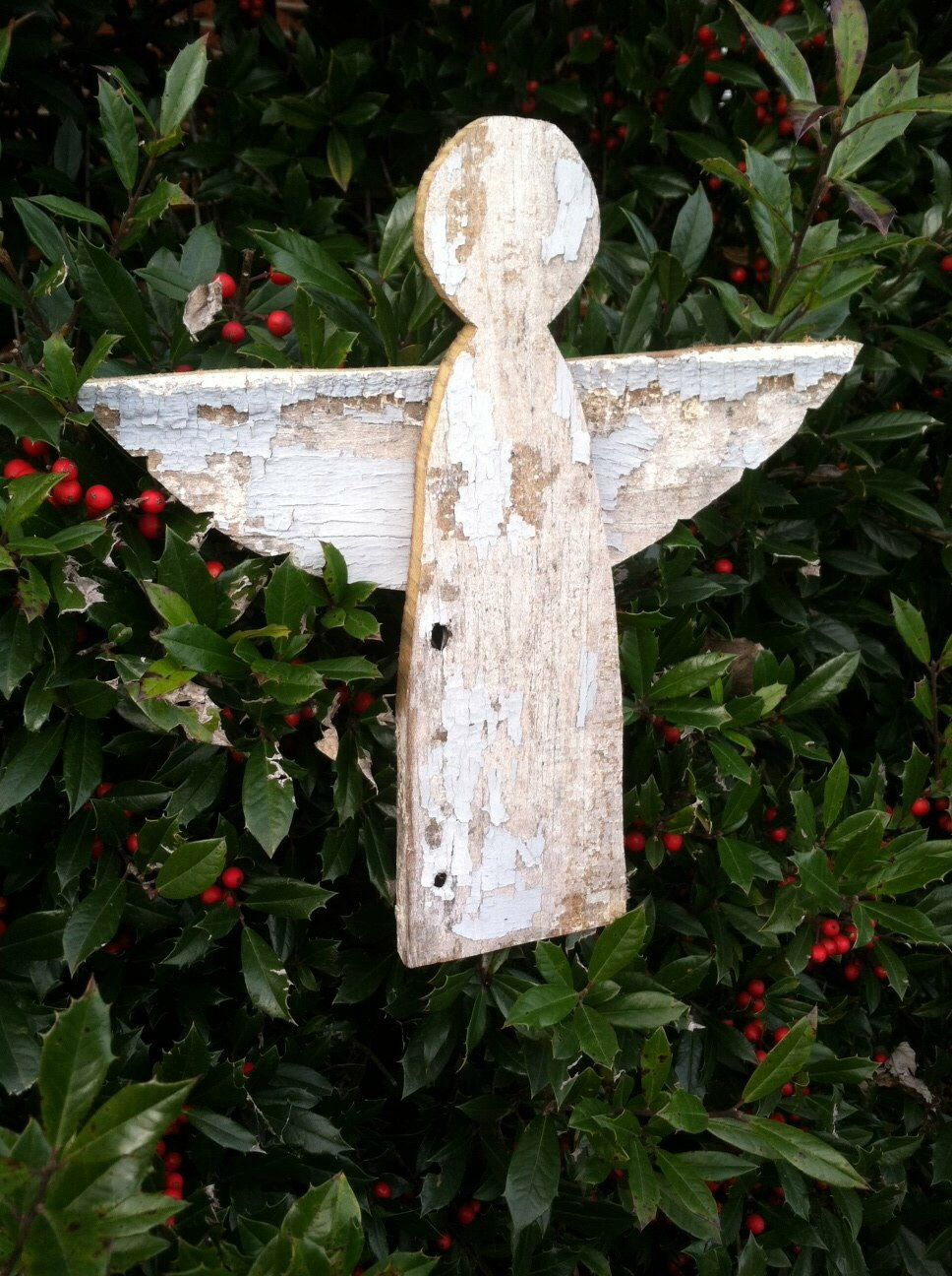 primitive barnwood angel christmas tree topper sold by baldmanmarkings on etsy  25
