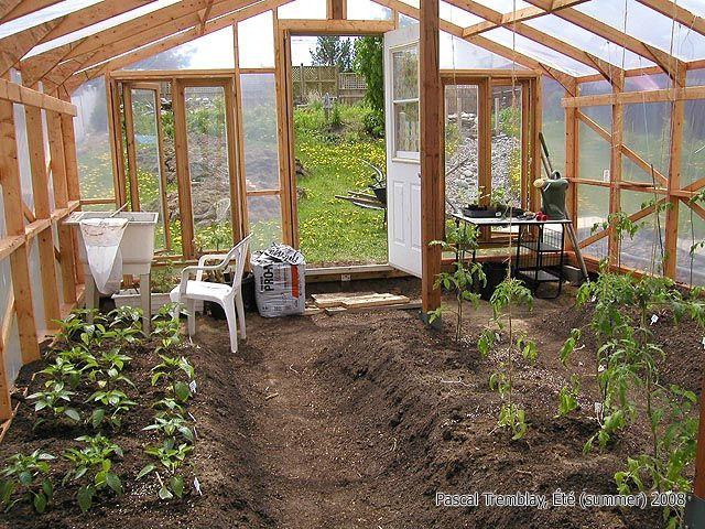 comment construire une serre | garden: winter | pinterest