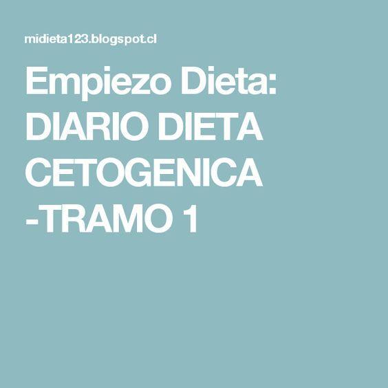 Dieta cetogenica tramos menu