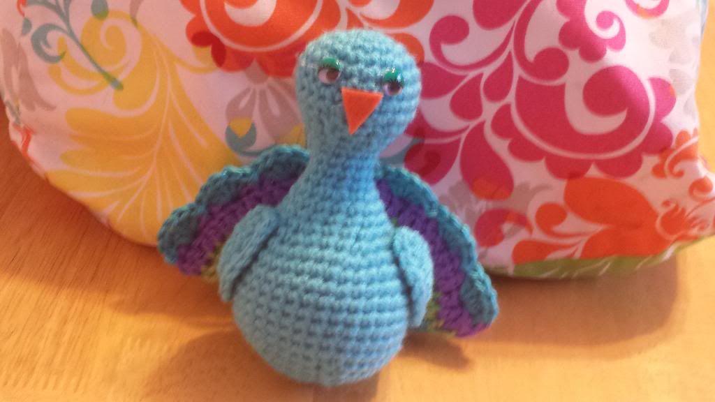 Leeses Pieces Crochet: Pretty Peacock Amigurumi! | Crochet | Pinterest