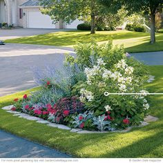 Island Bed Tips Dress Up Your Front Yard With An Island Bed! From Garden  Gate Magazine