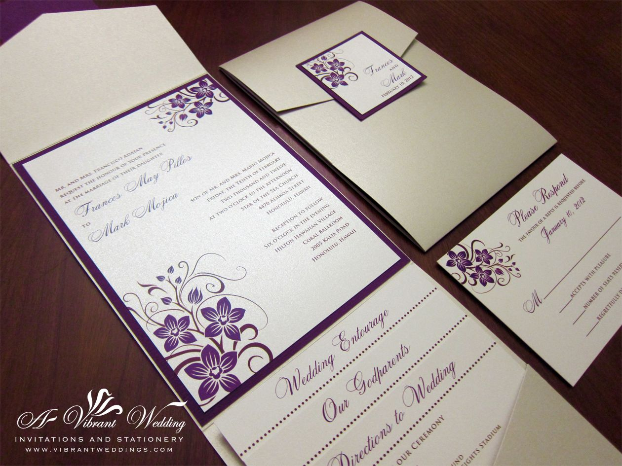 To view our extensive portfolio or to customize your own invitation