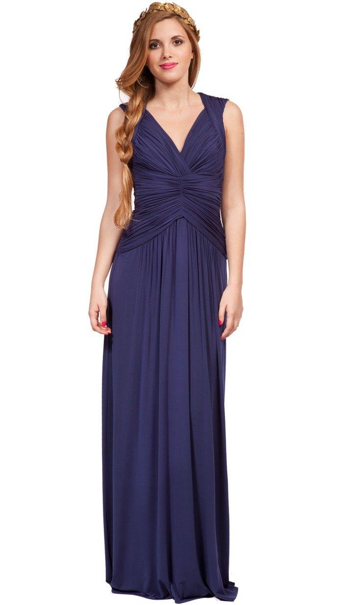 Aretes largos para vestido de noche