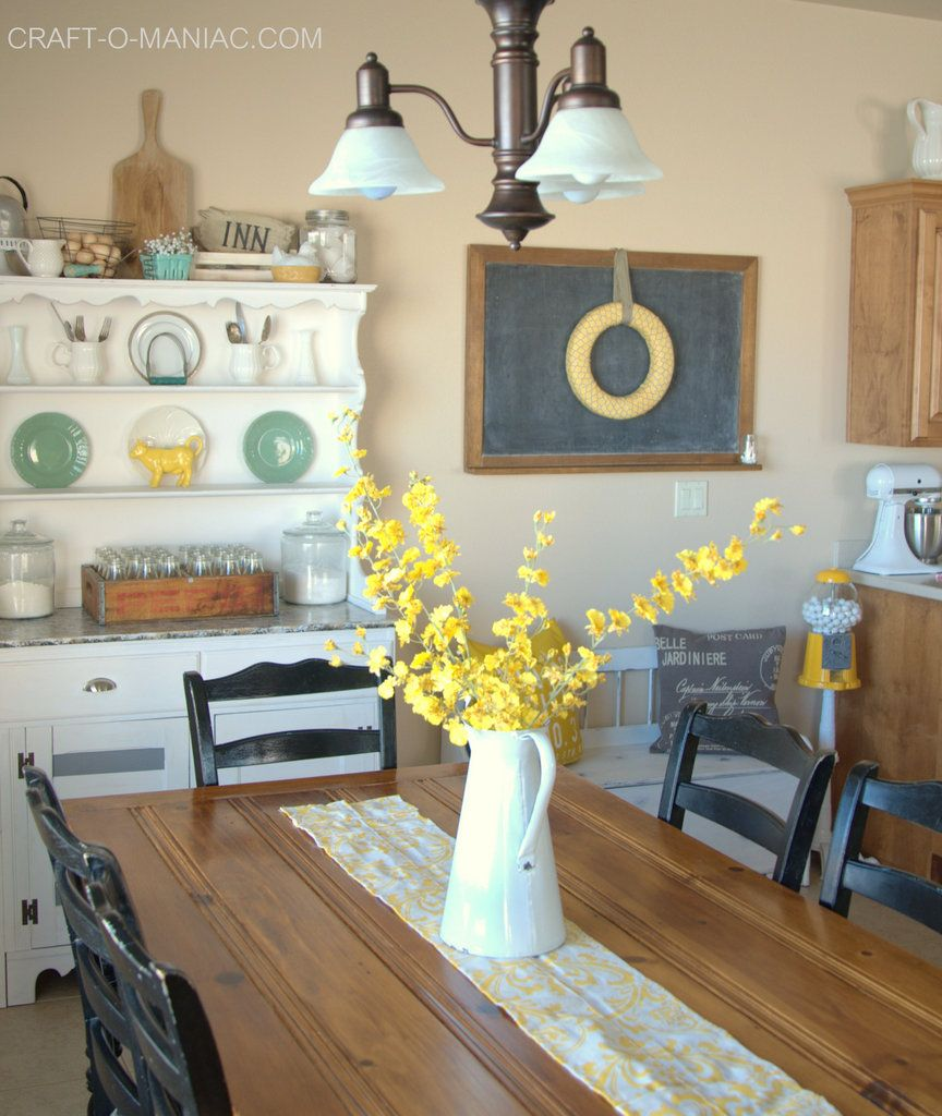 Rustic Farm Chic Kitchen Decor With Vintage Items Rustic Chic