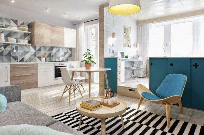 41 super photos pour meubler son appartement home design small studio apartment design - Meubler son studio ...