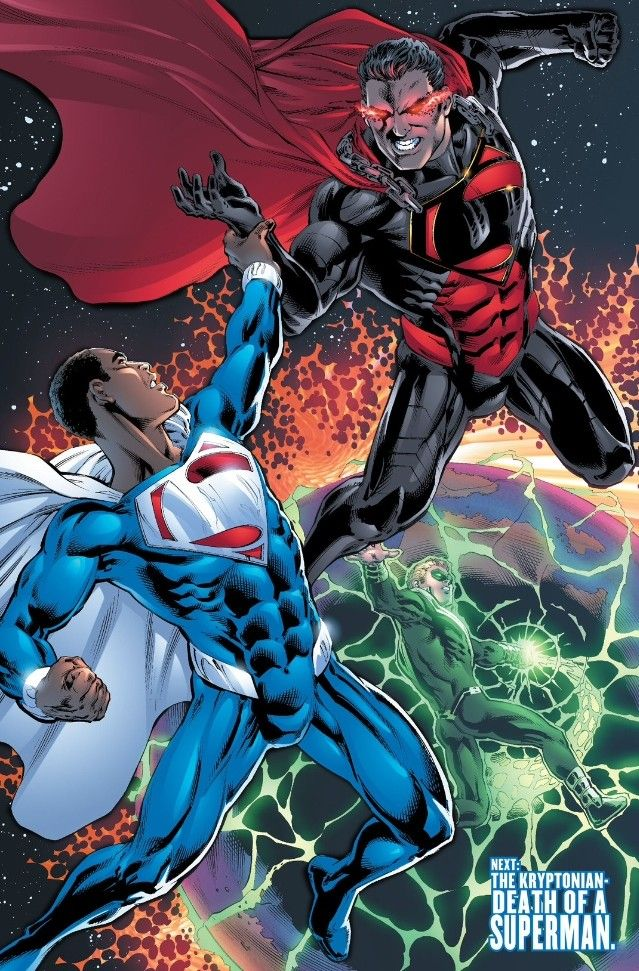 Superman Earth 23 | Superman vs. Superman! And its looks like Earth 2 #26 will leave only ...