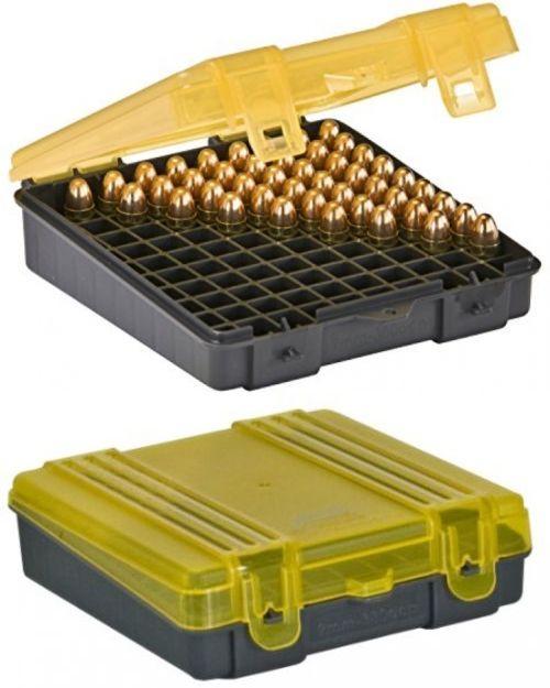 Plano 50 Round Rifle Ammo Bullet Box Case Small Medium Large Cartridge Case