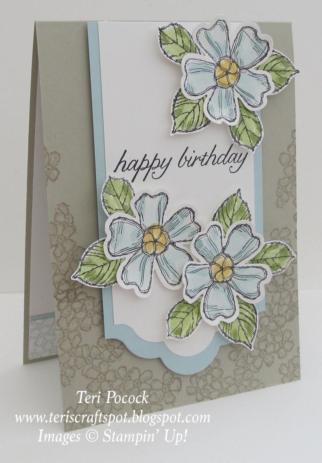Birthday blossoms catalogue inspired catalog birthdays and cards