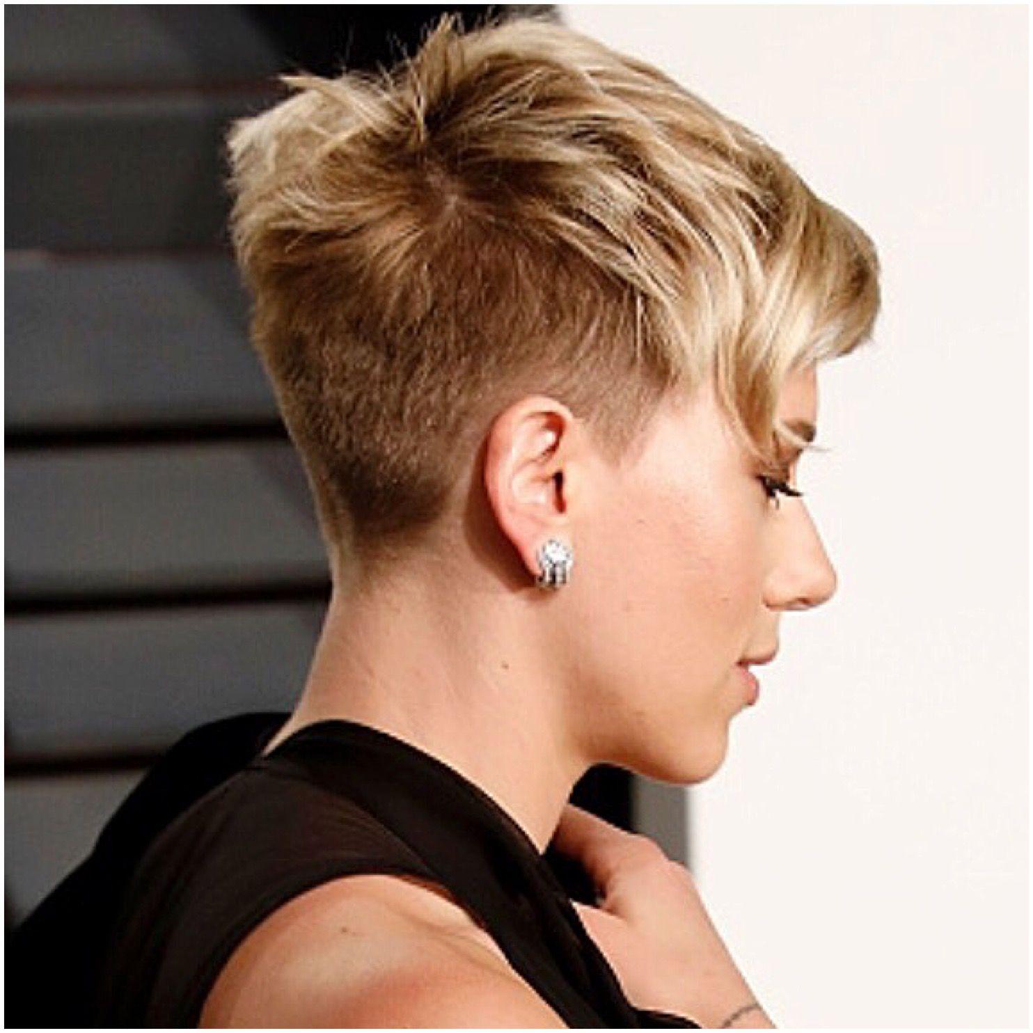Scarlett Johansson tyimages Short hair Pinterest