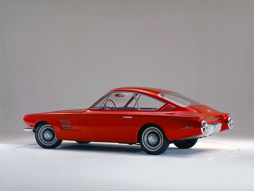 1963 Ford Allegro Fastback Coupe Concept Concept Cars Mustang Ford Mustang