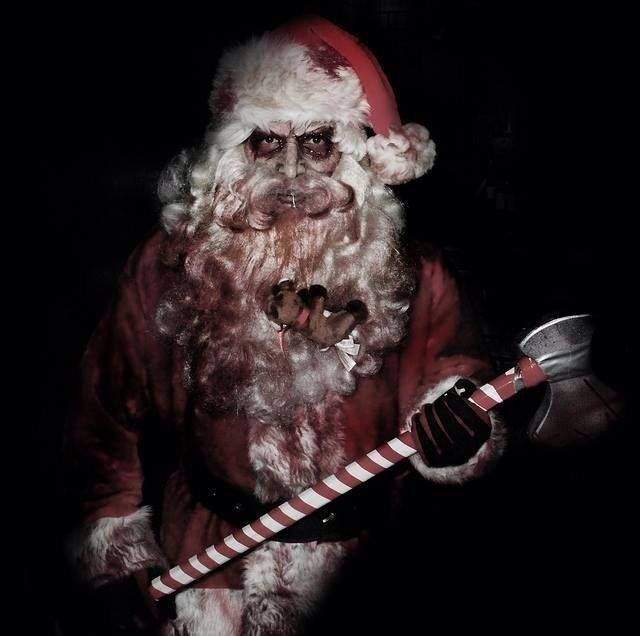 Evil Santa Costume Scary Christmas Christmas Horror Dark Christmas