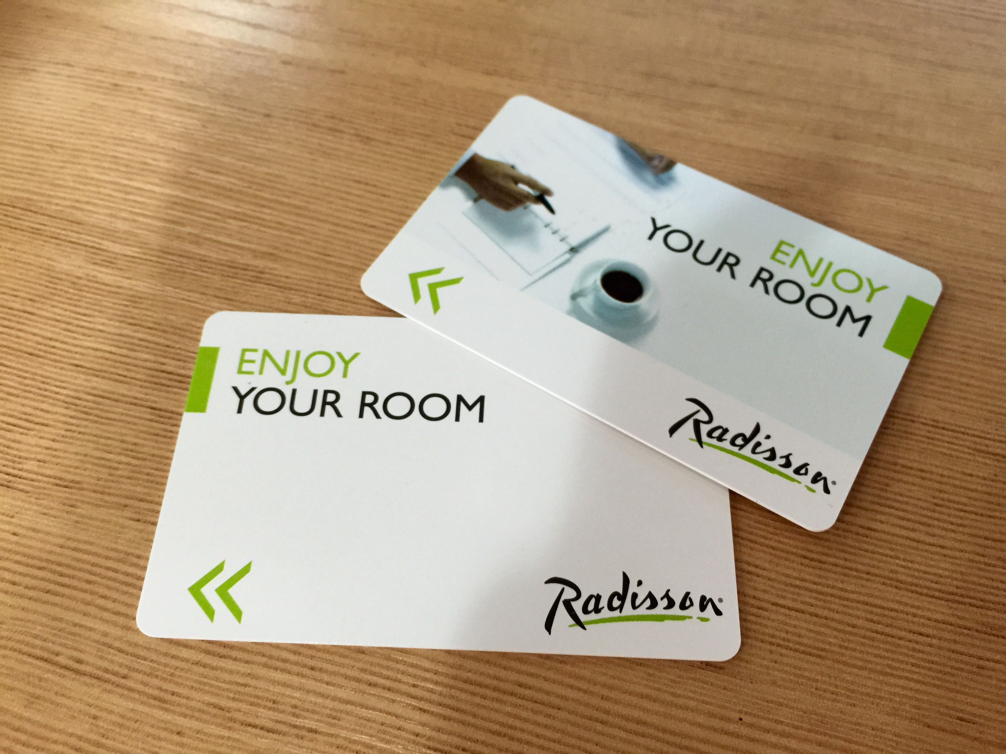 Cards made for Radisson 1 | hotel key cards made by ourselves ...