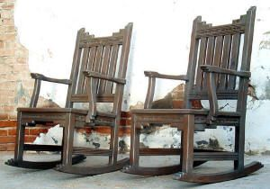New Mexico rocking chairs...$725.00 each