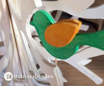holzv gel f r den osterstrauss diy osterstrau ostern und v gel. Black Bedroom Furniture Sets. Home Design Ideas