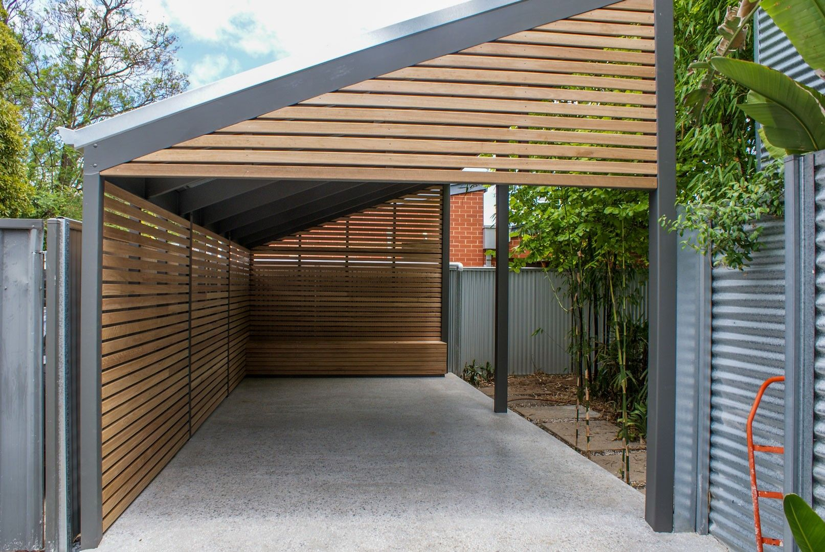 Cheap Storage Adelaide Hardwood Timber Carport In Adelaide Terrasse Og Have In