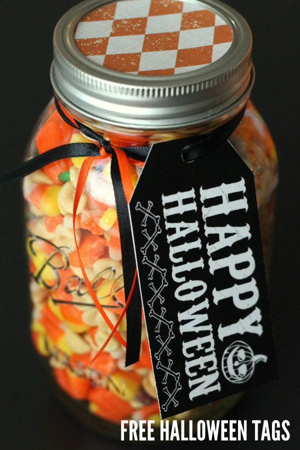 FREE Halloween Tags on { lilluna.com } #halloween