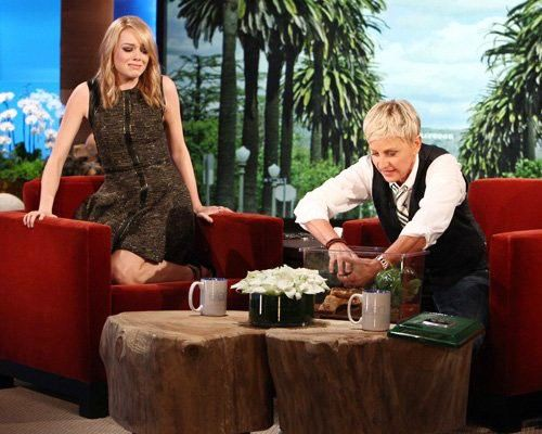 Who's a better kisser, Andrew Garfield or Ryan Gosling? Emma Stone won't tell