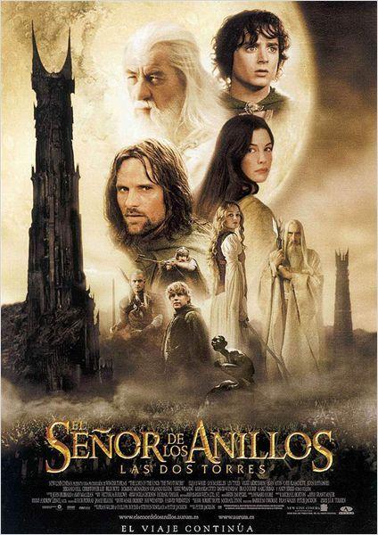 El Senor De Los Anillos Las Dos Torres Cartel Peliculas Cine Peliculas Carteleras De Cine