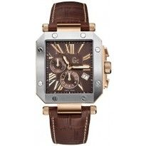 En Solde Modèle Fin Montre Guess Collection GC I50001G1 Bracelet Cuir (MCJ1VG)-20