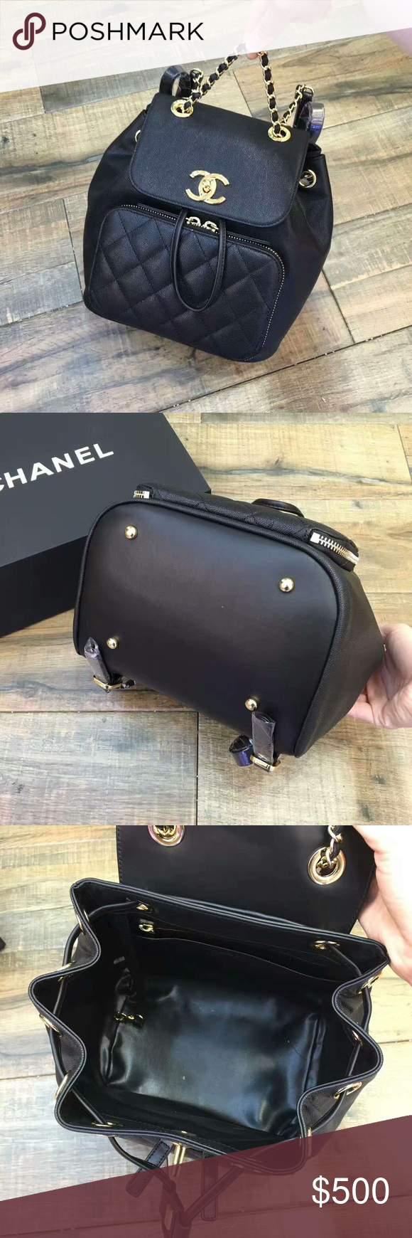 Chanel business affinity backpack Brand new never worn ...