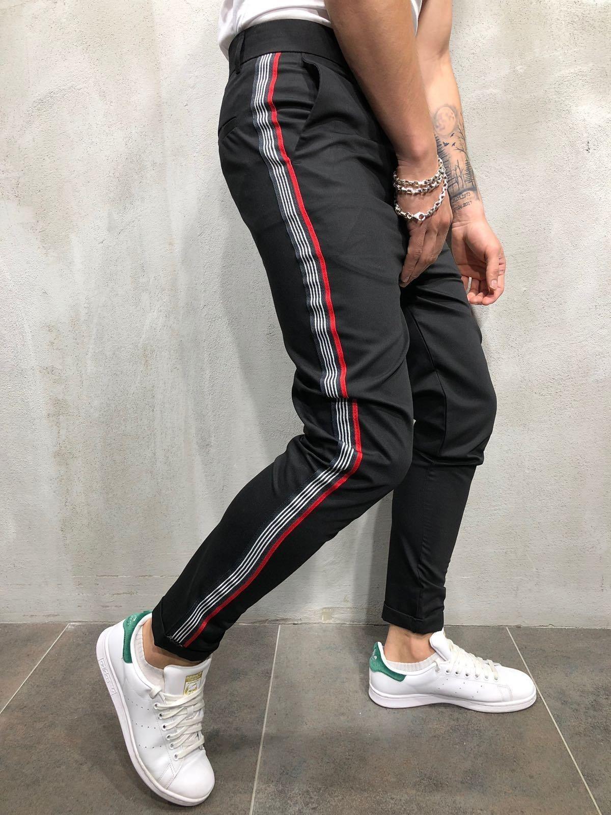 Men's BlackBlueRed adidas Originals Hoodie | Life Style Sports
