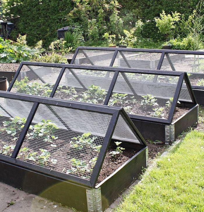 1001 + idées DIY pour fabriquer une jardinière ou potager en palette | Serre jardin, Amenagement ...