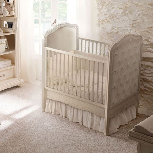 Dolce Notte Upholstered Crib Choice of Finish