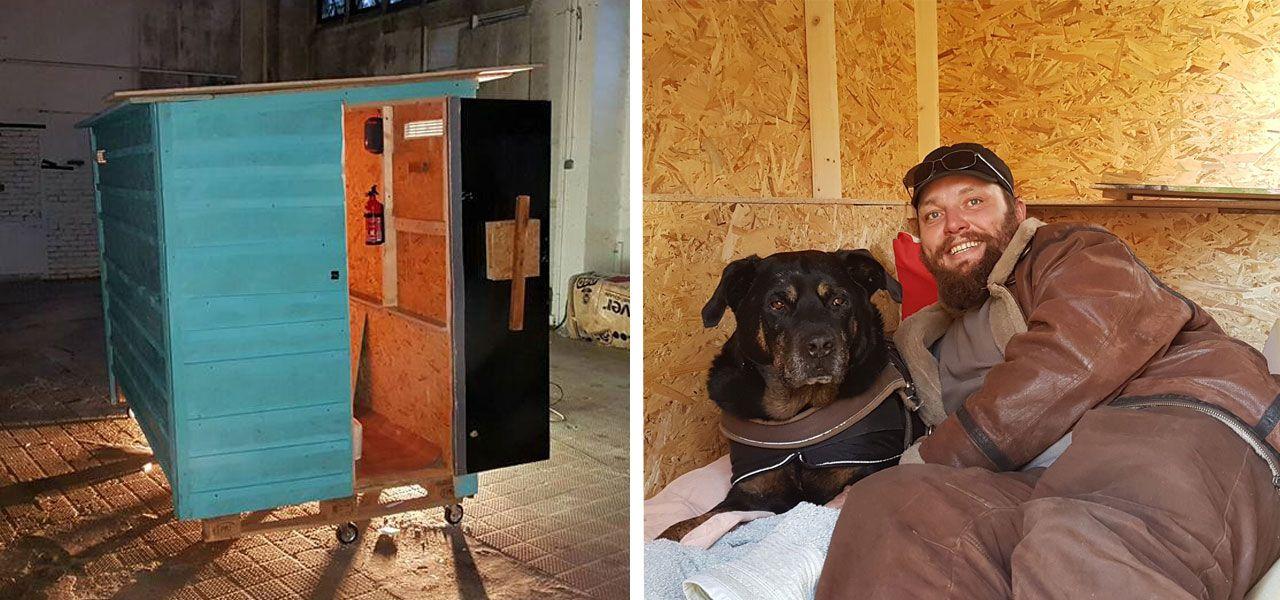 Schon 63 Stuck Dieser Verein Verschenkt Mini Wohnboxen An
