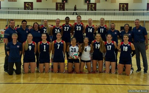 Xavier Alumna Amanda Benson Joins Team Usa In Volleyball Paradise Valley Independent Usa Volleyball Team Usa Volleyball Positions