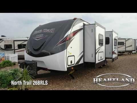 Heartland Travel Trailers >> North Trail 26brls Lightweight Travel Trailer Heartland