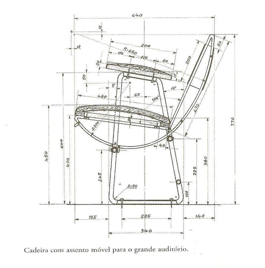 Chair Design By Lina Bo Bardi T 233 Cnicas De Desenho