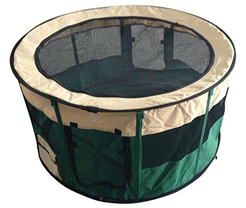 Nice Pet Puppy Dog Playpen Kennel Portable Indoor Outdoor Exercise Pen Soft  Sided Play Yard Sturdy Steel