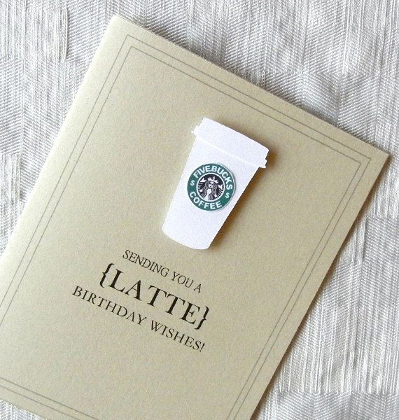 Coffee Card Google Search Birthday Ideas Pinterest Cards