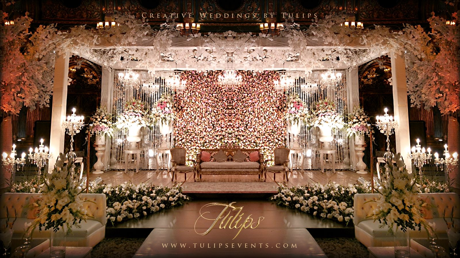 Tulips event best pakistani wedding stage decoration flowering for tulips event best pakistani wedding stage decoration flowering for mehndi walima barat stages dcor services junglespirit Image collections