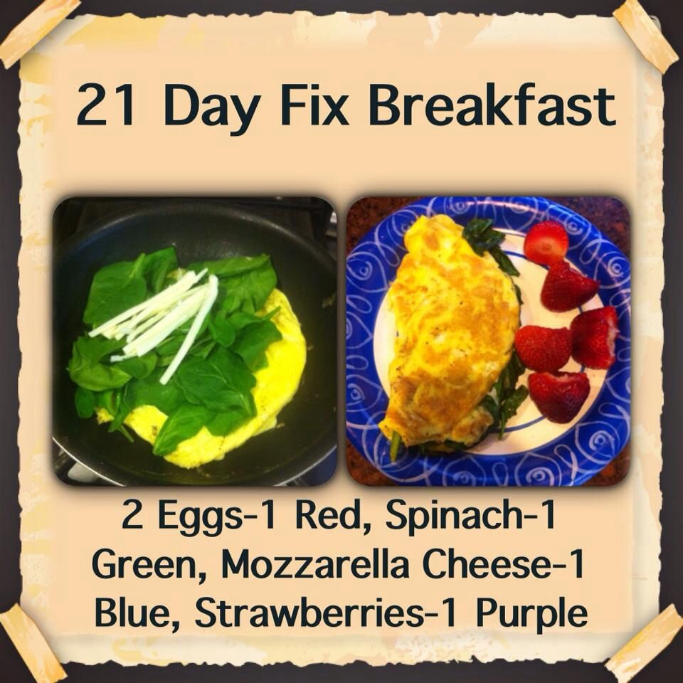 21 Day Fix I Can Barely Finish Everything When I Make